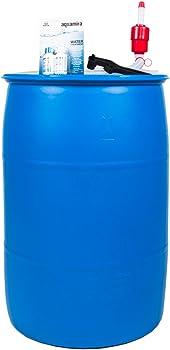 Augason Farms 55-Gallon Water Filtration and Storage Kit