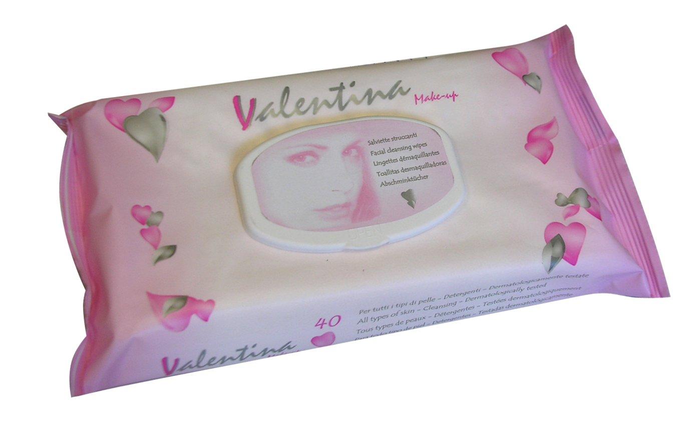 40 Lingettes Démaquillantes Valentina Stenago 0219