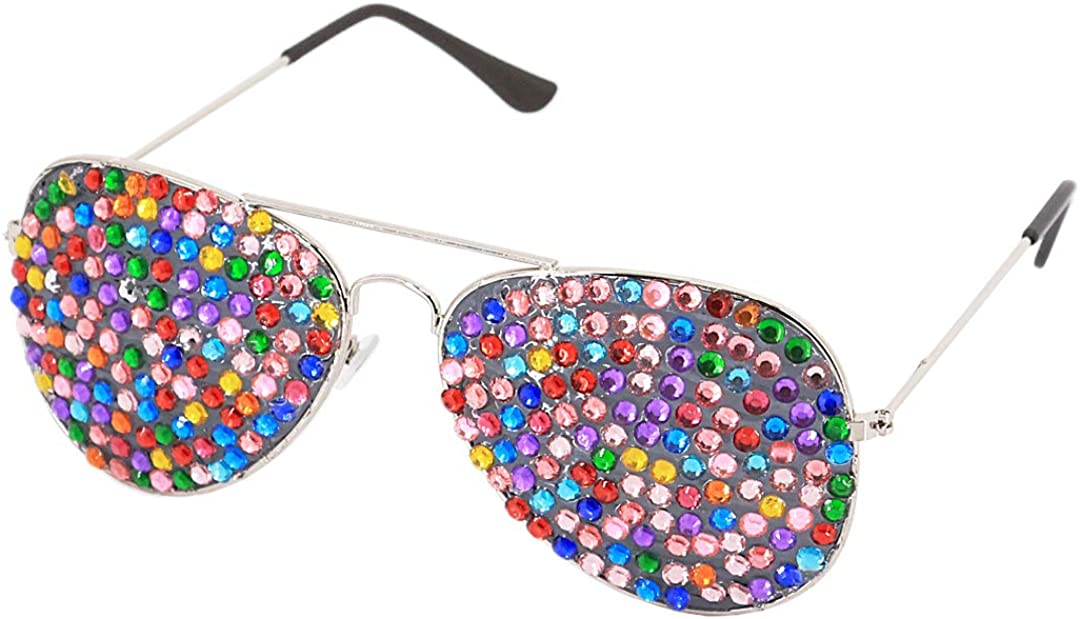 Naimo Novelty Rave Sunglasses Funny Party Hedgehog Eye Glasses