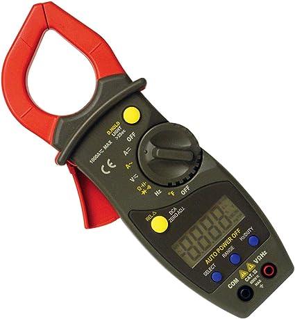 ZGQA-GQA DM6266 2000 Counts Digital Clamp Meter Digital Ammeter AC//DC Voltage Current Tester Resistor Diode Continuity