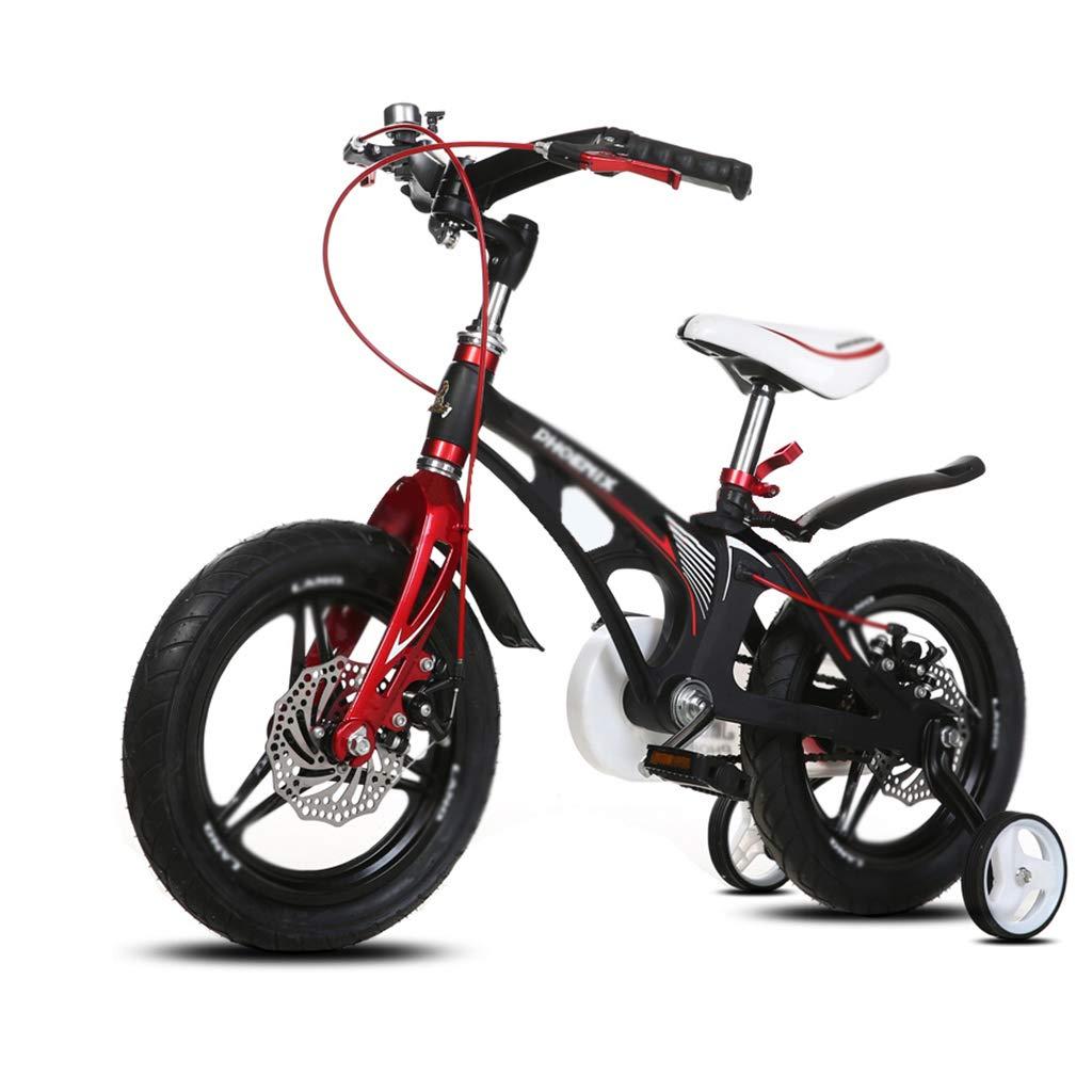 Bici per bambini Bicicletta da Bambino per Bambini da Bicicletta da Bambino, da Uomo e da Donna da 16   12  (Colore   nero, Dimensione   12inch)