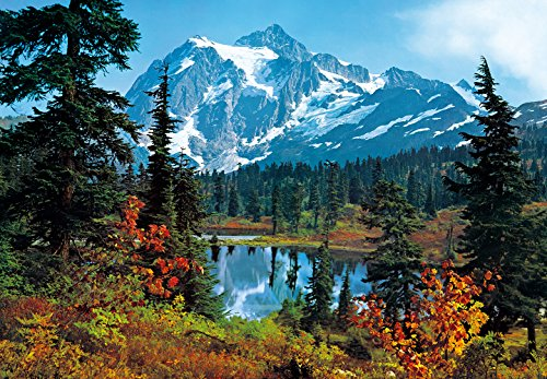 Komar DM211 Ideal Decor Mountain Morning 8-Panel Wall (8 Panel Mural)