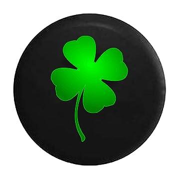 Amazoncom Green Lucky 4 Leaf Clover Shamrock Irish Heritage Tire