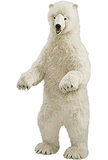 Amazon Com Big Plush Giant Stuffed Polar Bear 5 Feet Tall Huge
