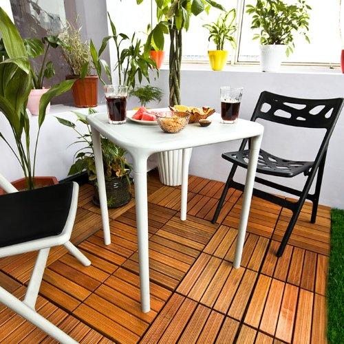 Sobuy Decoración Para Jardín Set De Jardín Muebles De