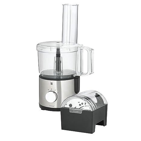 WMF Kult X - Robot de cocina (2 L, Negro, Plata, 189