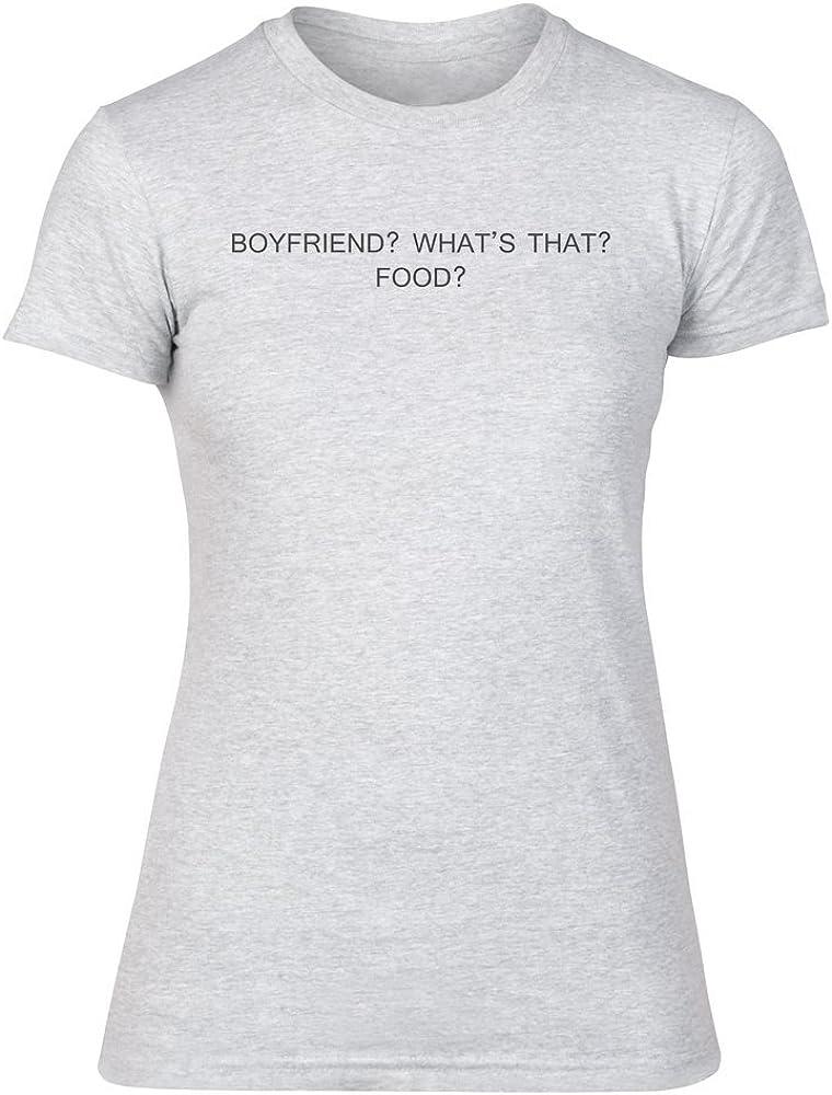 Food Womens T-Shirt Boyfriend Whats That