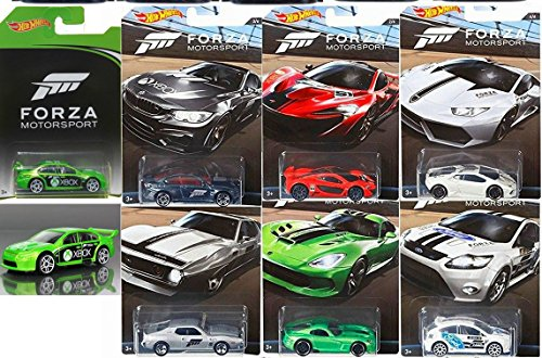 Hot Wheels Forza Racing Them (Hot Stickers Cars Wheels)