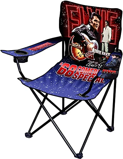 Innovent Brands Elvis Presley 68 Comeback Special Camping Chair