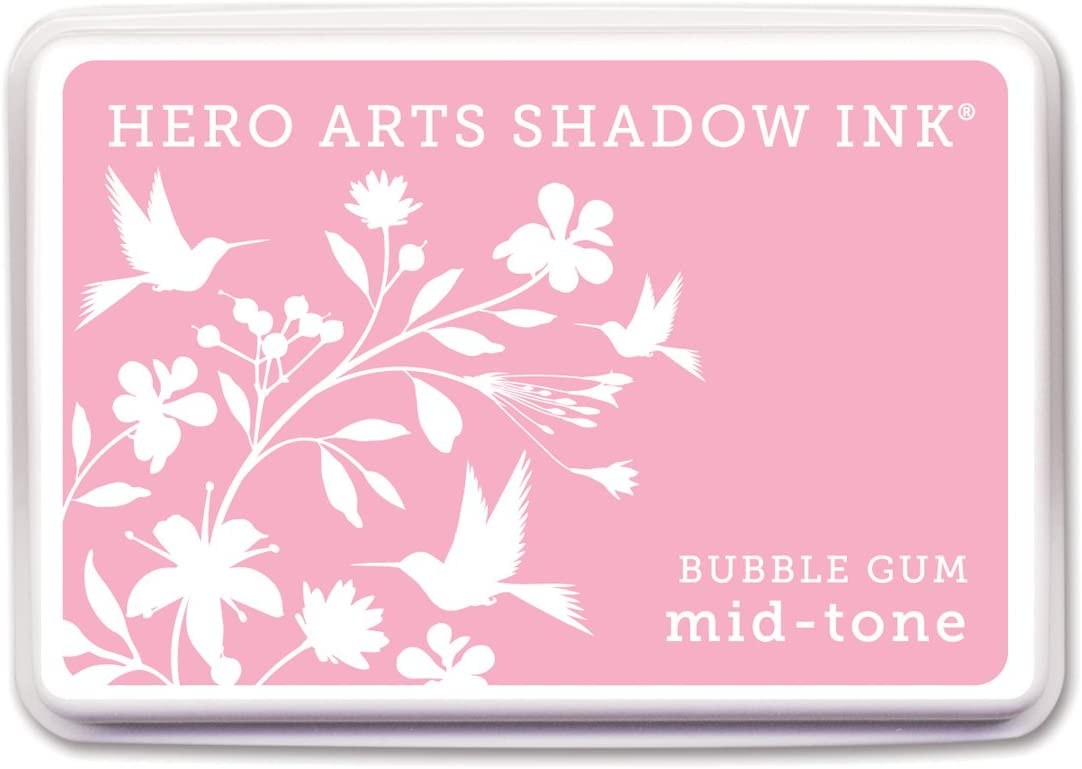 Soft Pink, Hero Arts Rubber Stamps Shadow Ink
