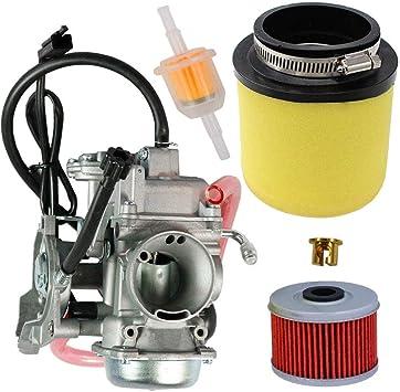 The ROP Shop New Carburetor for Arctic Cat 2008-2017 350-400 ATV 0470-737 0470-843 Engines