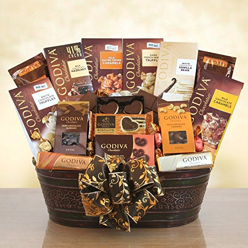 Godiva Grand Impressions Chocolate Gift Basket by Redd Barn