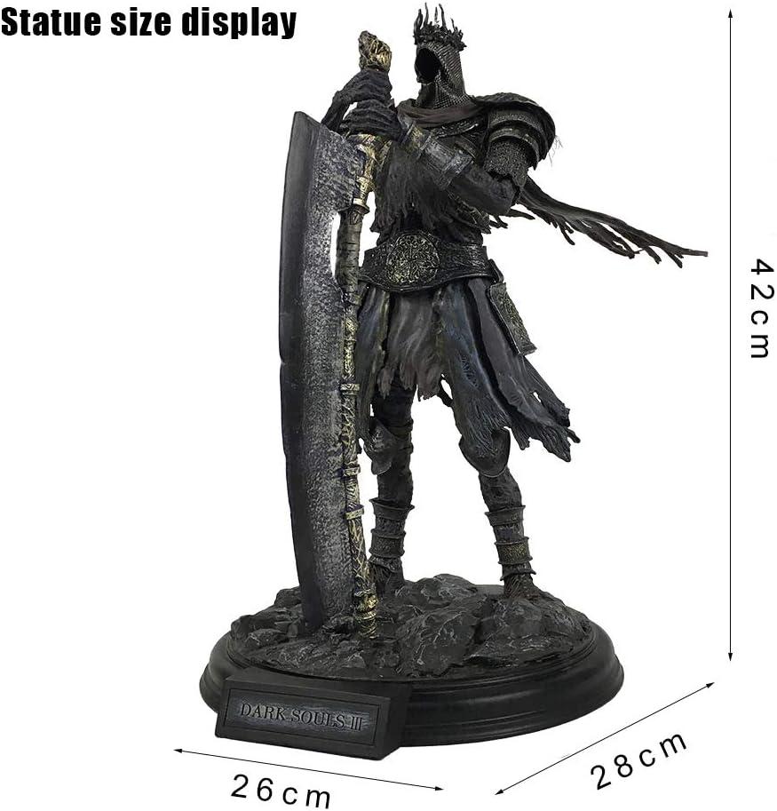 HAIZI FIGURE Dark Souls 3 Papel Yhorm El Gigante Modelo Figura Estatua De La Resina Decoración del Hogar De Los 42CM: Amazon.es: Juguetes y juegos