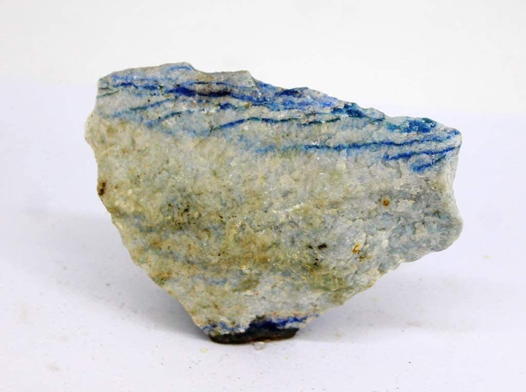 Cuarzo Azul - Mineral en Bruto/Piedra Semi Preciosa - Arte de la ...