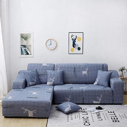FENFANGAN Fundas De Sofas Chaise Longue Corner Sofa Cover ...