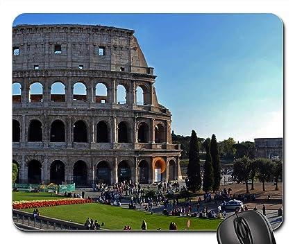 Amazon Com Mouse Pads Colosseum Rome Italy Romans Gladiators