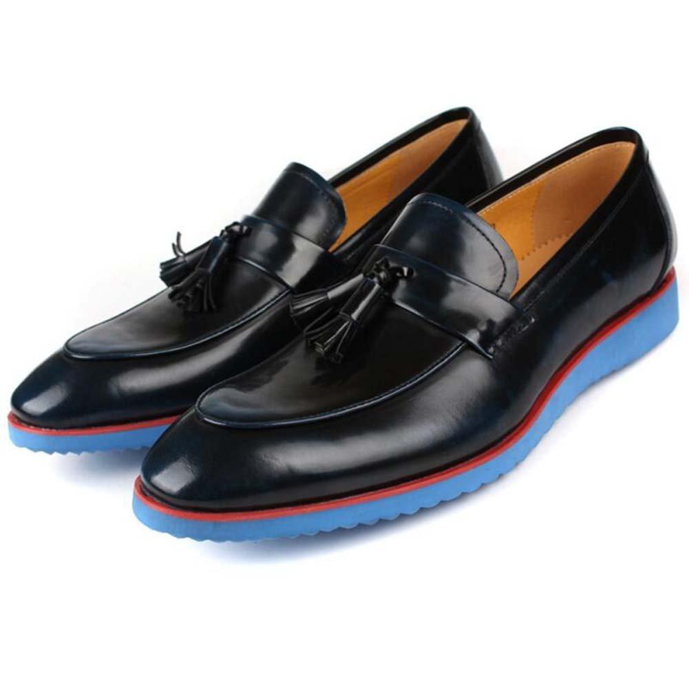 GLSHI Herren Geschäft Kleid Schuhe Fuß Comfort Soft Leder Arbeitsschuhe Slim Größe 37