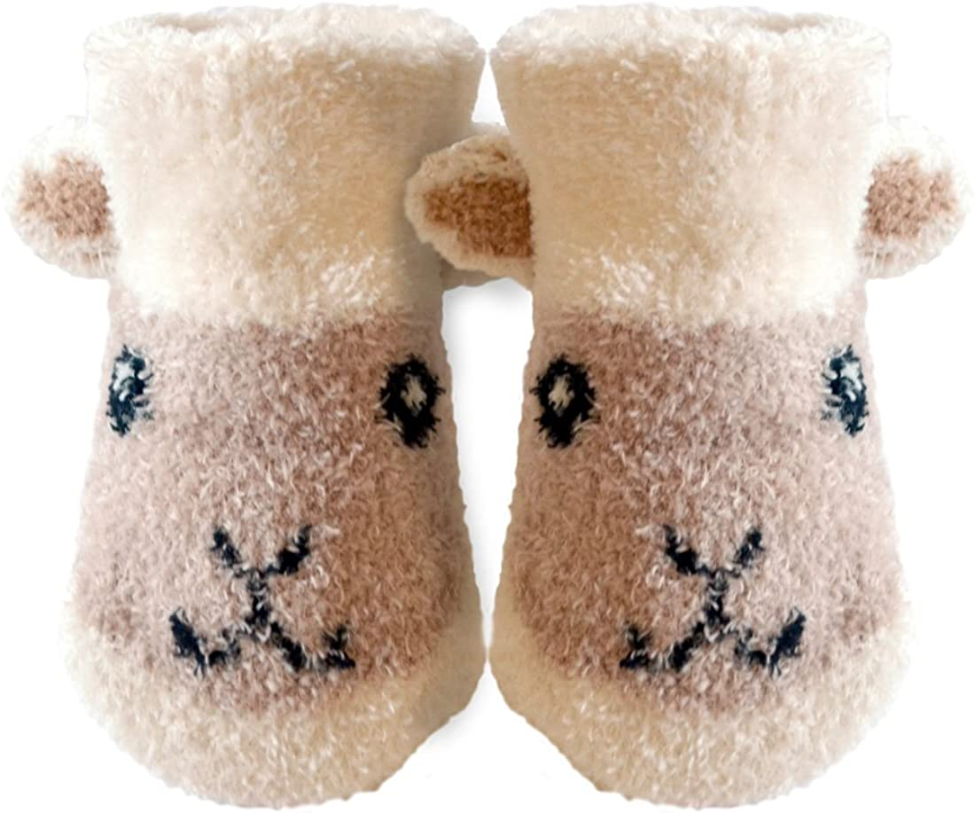 Patrick Francis Ireland Kids Woolly Sheep Heads Hats Cream Colour
