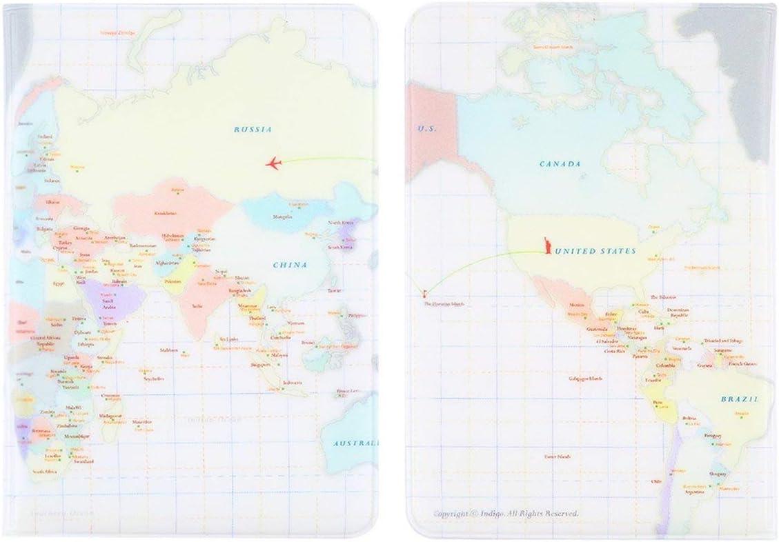 Beige camellia/® 2015 d/étenteur du Passeport PVC Couverture identit/é Identification Carte de cr/édit Couverture Sacs Porte-Documents Document Passeport Sacs Cas Livraison Gratuite