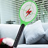 Dergo  Mosquito Killer Electric Tennis Bat Handheld Racket Insect Fly Bug Wasp Swatter
