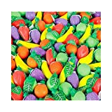 Candy Filled Plastic Fruit Shapes (With Sticky Notes)