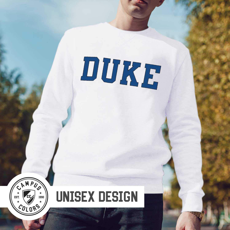 Duke Blue Devils NCAA Adult Pure Royalty Crewneck Sweatshirt