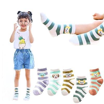 Children's socks Lovely assorted animal kids socks 5 Pair Pack