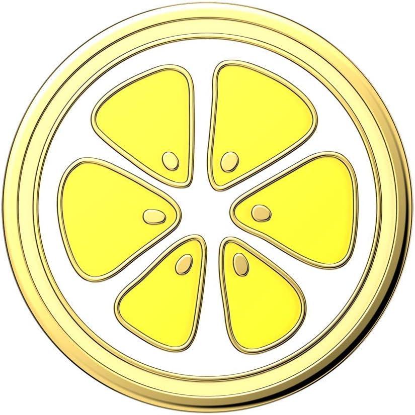 Enemal Lemon Slice YL Otter+Pop /& PopWallet+ PopGrip Slide Top only. Base sold separately. PopSockets PopTop : Swappable Top for PopGrip bases