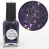 Lynnderella 2017 Christmas Advent Navy Shimmerella Nail Polish—December 27-Friendly Youniverse