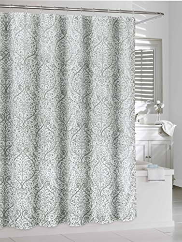 Duck River Textiles Leona Shower Curtain Set with 12 Hook...