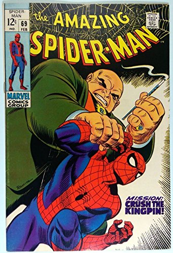 AMAZING SPIDER-MAN (1963) #69 FN- (5.5) Kingpin cover