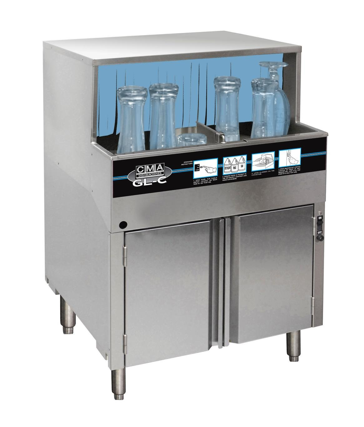 CMADish Low Temp Glasswashers GL-C