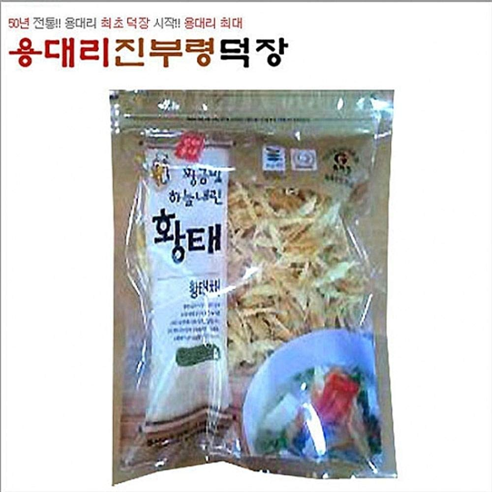 Dried Shredded Pollack 100g The Traditional Way 4 Months Natural Drying, Korea