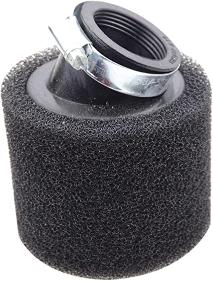 Filtros de aire para motocicleta Universal para 50cc 110cc 125cc 140cc 150cc 160cc motocicleta Negro 45mm
