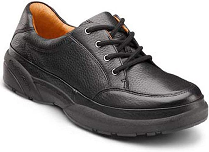 Dr. Comfort Justin Men's Therapeutic Diabetic Extra Depth Shoe Leather Lace