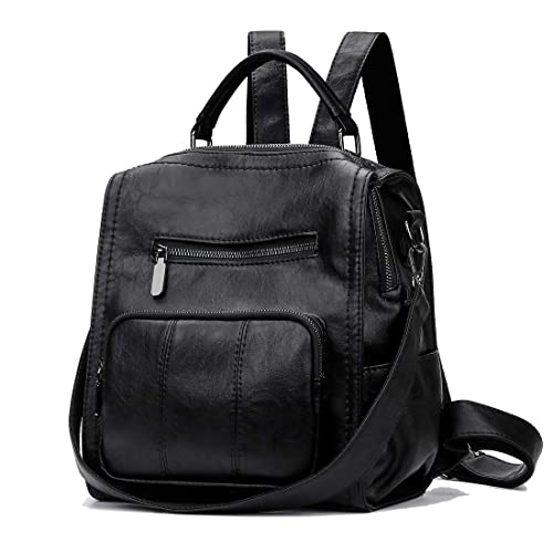 b7f437e83c43 Alovhad Women Backpack Purse Fashion PU Leather Daypack Ladies Rucksack  Travel Shoulder Bag Handbag Purse