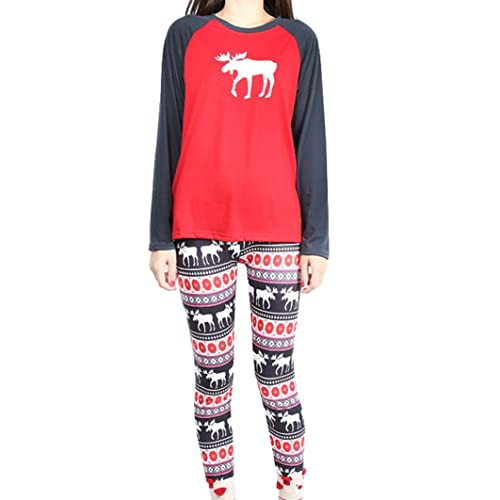 isshe matching family christmas pajamas kids boys adult deer pajama sets childrens pajama for couples ladies