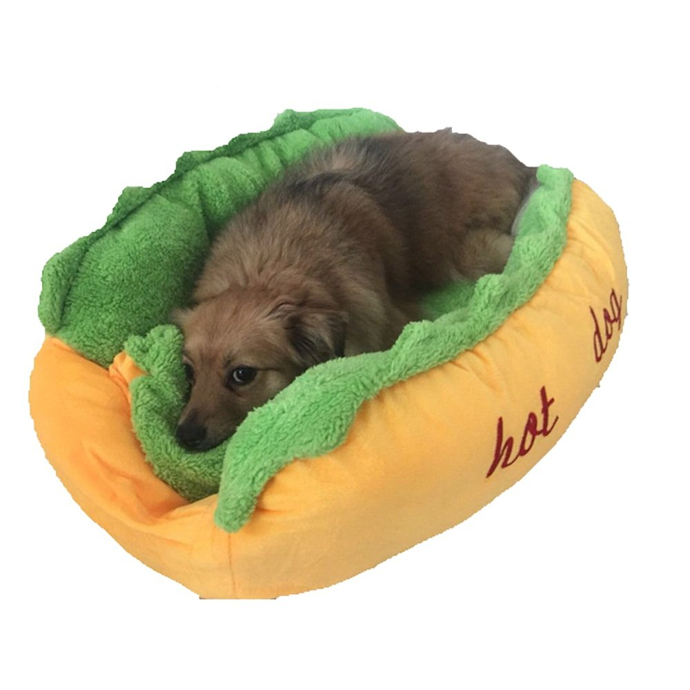 Hot Dog Bed Pet Winter Beds Fashion Sofa Cushion Dog House Pet Sleeping Bag Cozy Puppy Nest Kennel