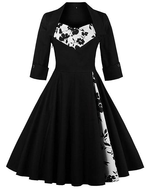 Vestido de noche negro accesorios