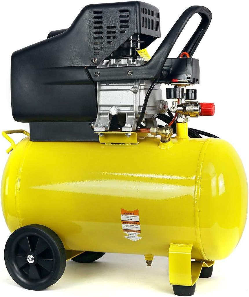 Stark Portable Quiet Air Compressor 10-Gallon Tank 3.5HP Air Compressor Ultra Quiet Compressor w/Wheel