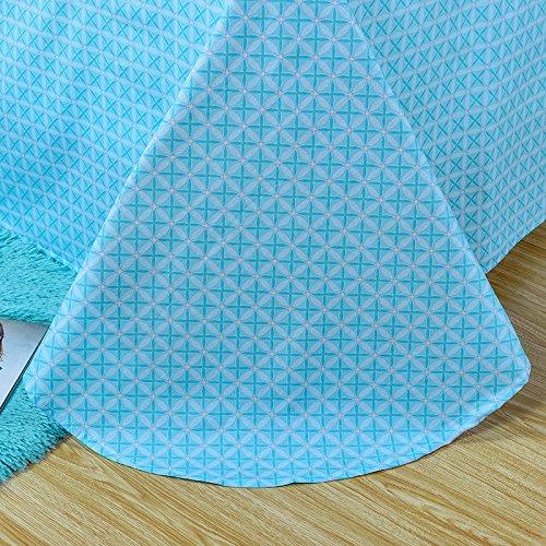 TheFit Paisley Textile Bedding for Adult U559 Multi Color Boho Bohemian Duvet Cover Set 100% Cotton, Queen Set, 4 Piece