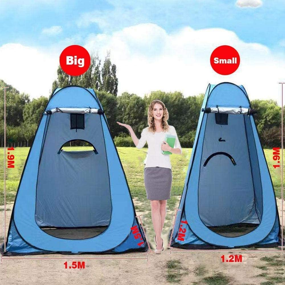 VAGAVDirect Outdoor Pop Up Privacy Tent Portable Waterproof Bathing Changing Room Mobile Toilet with Carrying Bag Sun Shelter for Camping Beach Hiking Travel