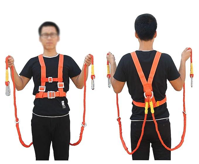 WGE Protección De Protección contra Caídas, Seguridad del Arnés De ...