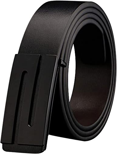 Luxury Leather Belts for Men Reversible Belt Fashion S Letter Smooth Buckle Luxury