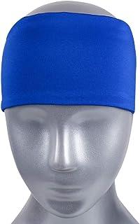 XXIAZHI,Bandeau de Sport Bandeau de Fitness avec absorbeur de Sueur et Anti-Transpirant(Color:Vert FONCÉ,Size:1 PC)