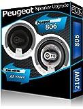 HAUT-PaRLEURS DE PORTIERE AVANT DE Peugeot 806 Fli kit de haut-Parleurs de voiture 210 Watts