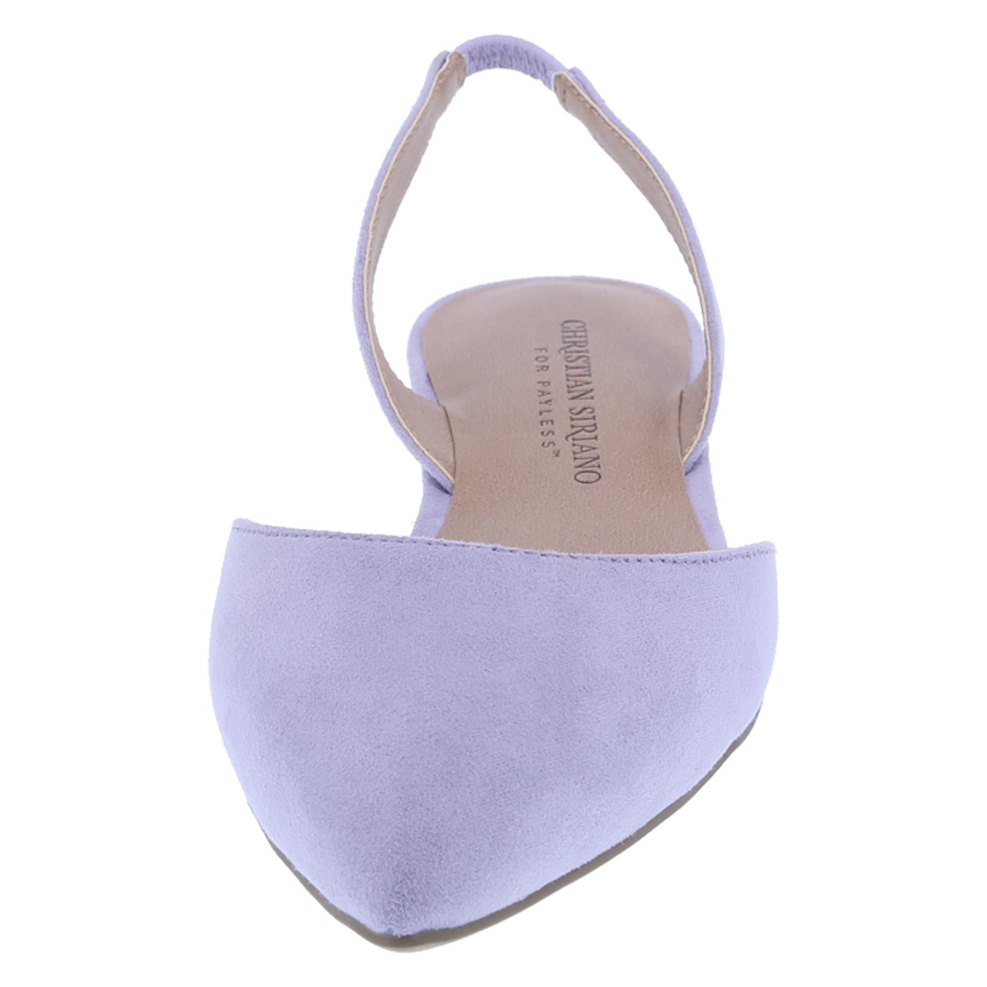 53f2aa31d64 Christian Siriano for Payless Women s Lilac Suede Women s Betty 2-Pc. Slingback  9.5 Regular  Amazon.ca  Shoes   Handbags