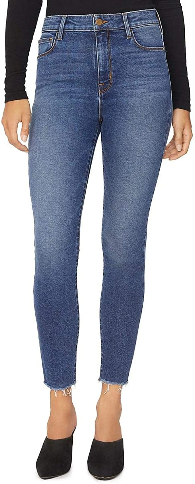 """Social Standard Sanctuary Women/'s High Rise Skinny Ankle 29/"""" inseam JeansD2"""
