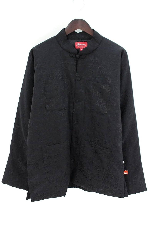 (シュプリーム) SUPREME 【18SS】【Mandarin Jacket】マンダリンチャイナブルゾン(M/ブラック) 中古 B07FCFD5NZ  -