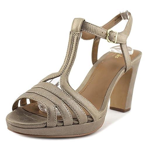 0fe5ef094e3e CLARKS Women s Jenness Night Ankle Strap Sandal